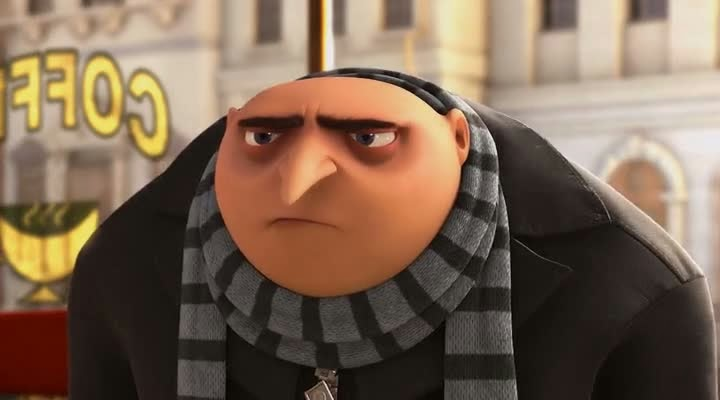 Screen Shot Of Hollywood Movie Despicable Me (2010) In Hindi English Full Movie Free Download And Watch Online at alldownloads4u.com