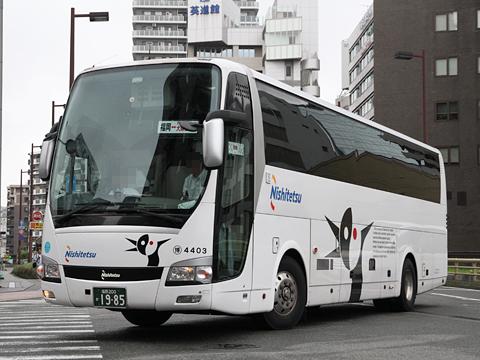 西日本鉄道「ムーンライト号」 4403