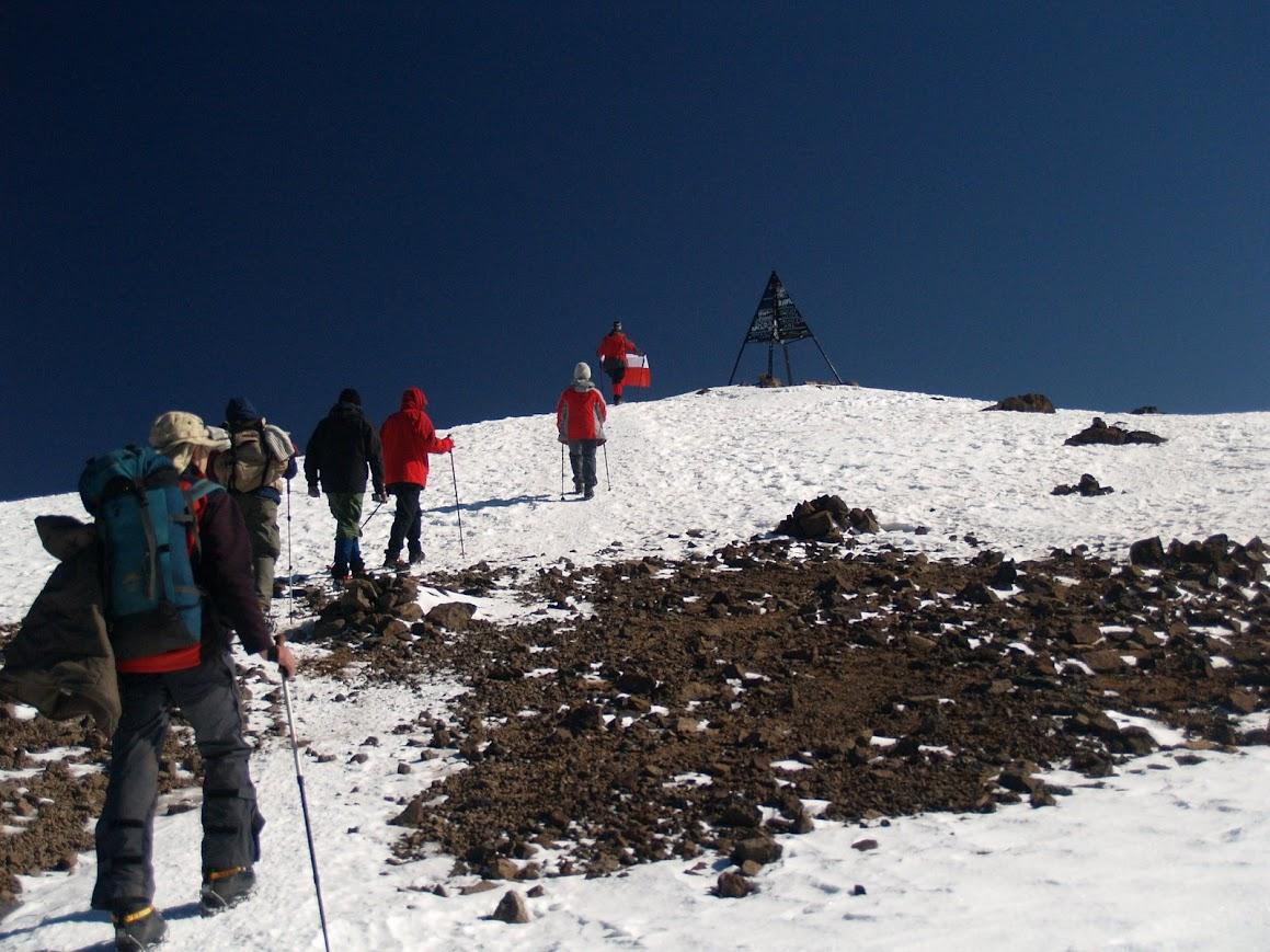 Zimowy Toubkal