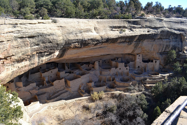 Национальный парк Меса Верде (Mesa Verde National Park, CO)