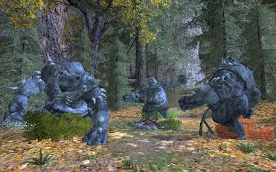 bilbo hobbit clairiere trolls