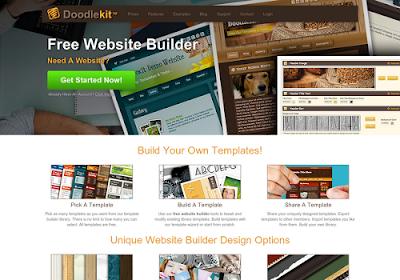 doodlekit.com free online website builders