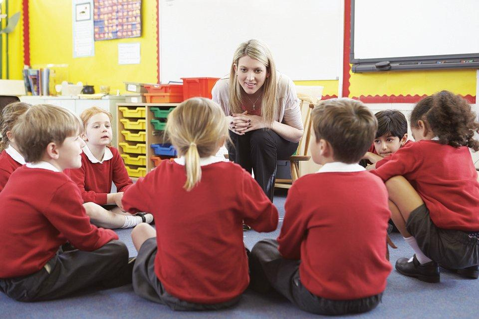 Teaching, Children, Listening, Teacher, Learning