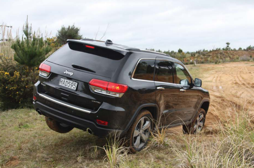 Jeep Grand Cherokee 2013 is a rugged ride
