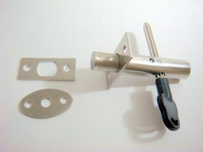 裝潢五金品名:7543-白鐵通道鎖規格:15*62m/m材質:白鐵玖品五金