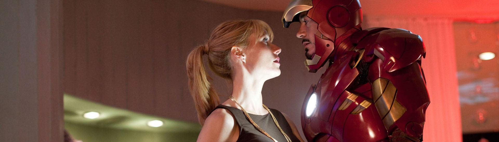 Baner filmu 'Iron Man 2'