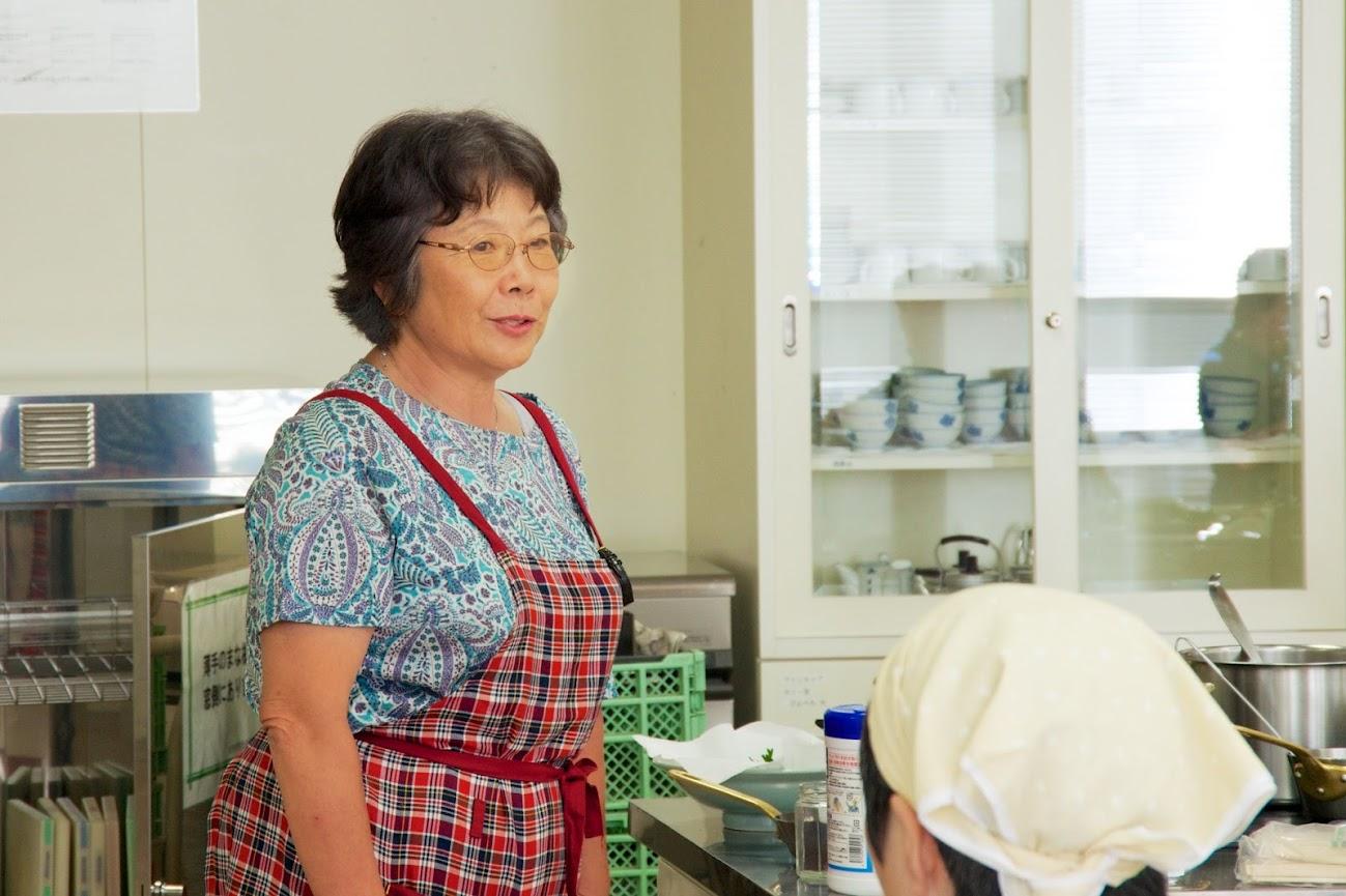 事務局・片山寿美子さん