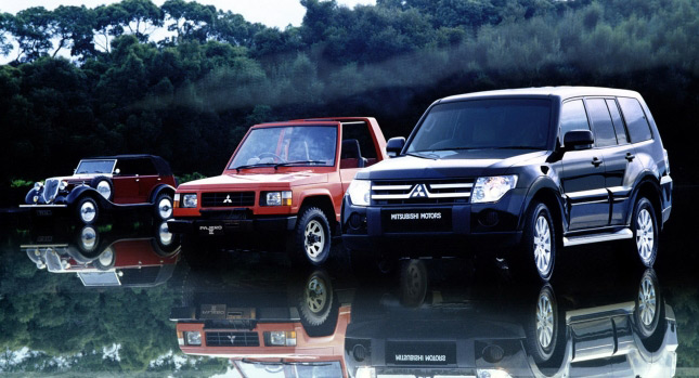 the mitsubishi pajero or montero in the us has been around in its