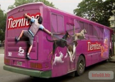 Autobus setanje psa