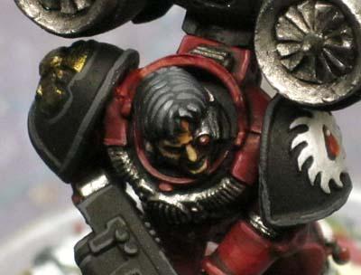 Warhammer 40k painting details