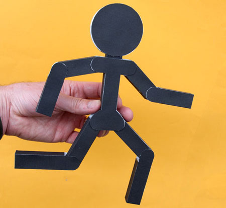 Poseable Stickman Papercraft