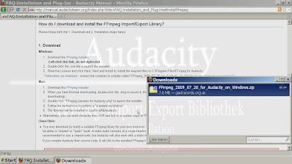 Ffmpeg für audacity download