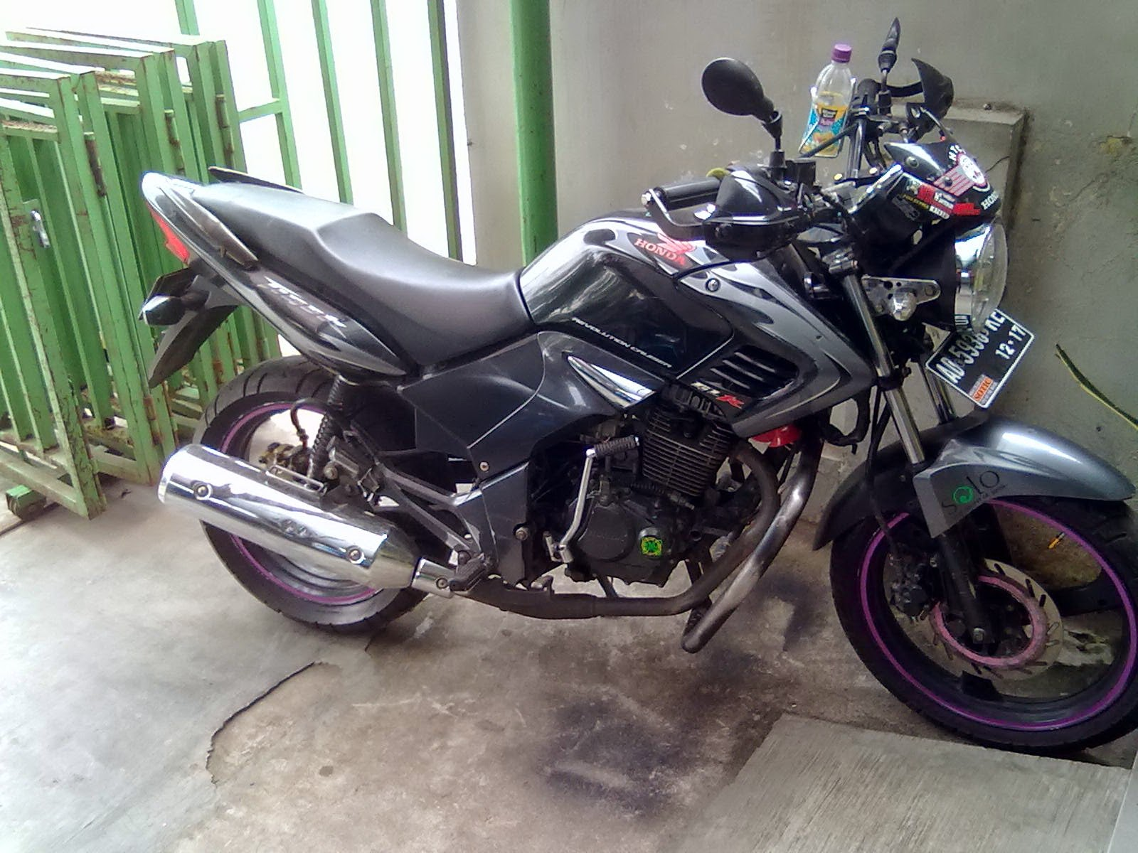 Foto Honda Tiger Modifikasi Touring