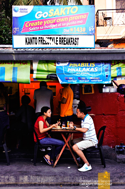 Street Style Eating at Mandaluyong's Kanto Freestyle Breakfast