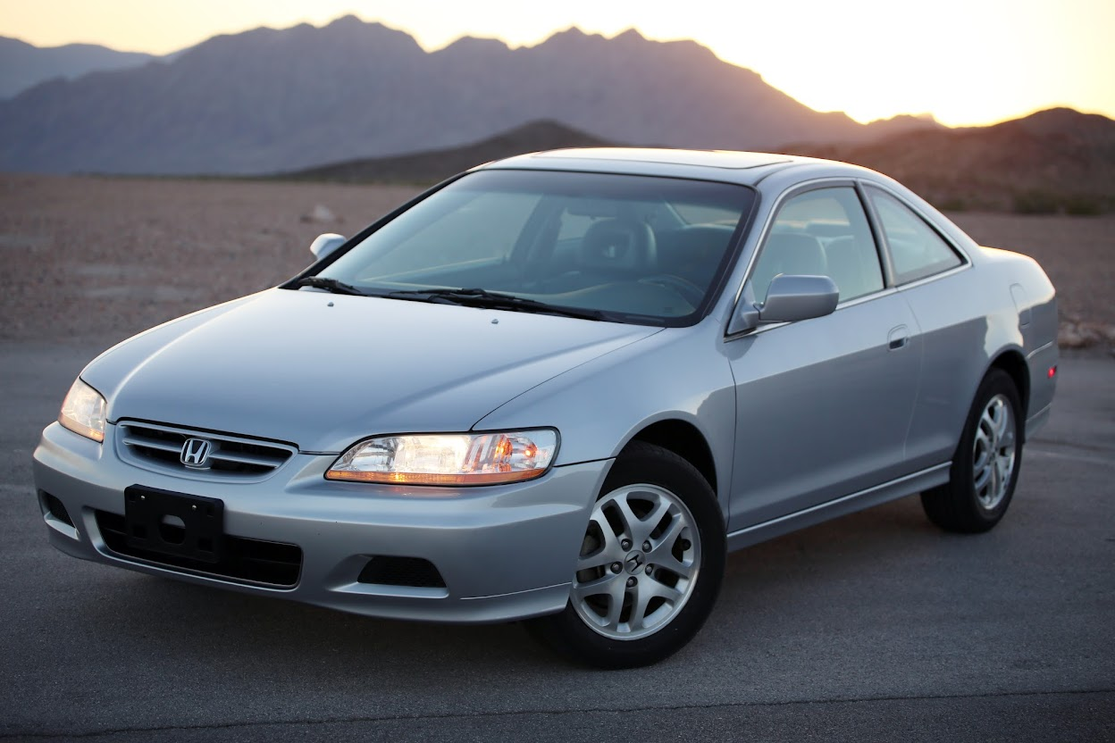 2001 honda accord ex v6 auto coupe leather roof ebay. Black Bedroom Furniture Sets. Home Design Ideas