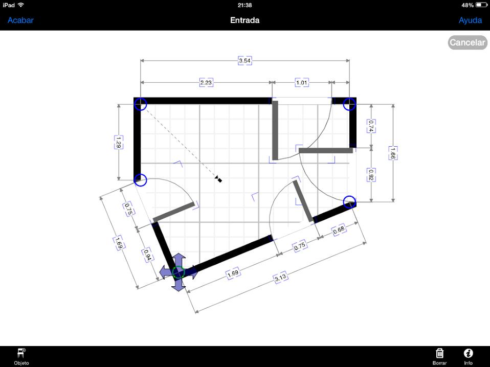 Apss de Construcción | Resultado provisional con MagicPlan