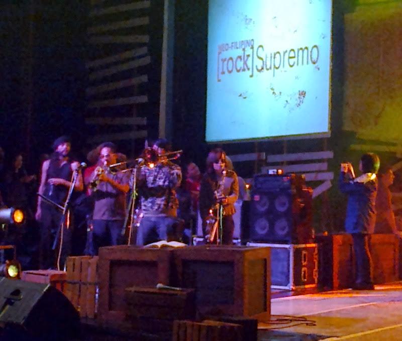 Radio Active Sago Project in rock Supremo