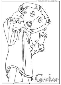 Coraline Fan Blog CORALINE COLORING PAGES
