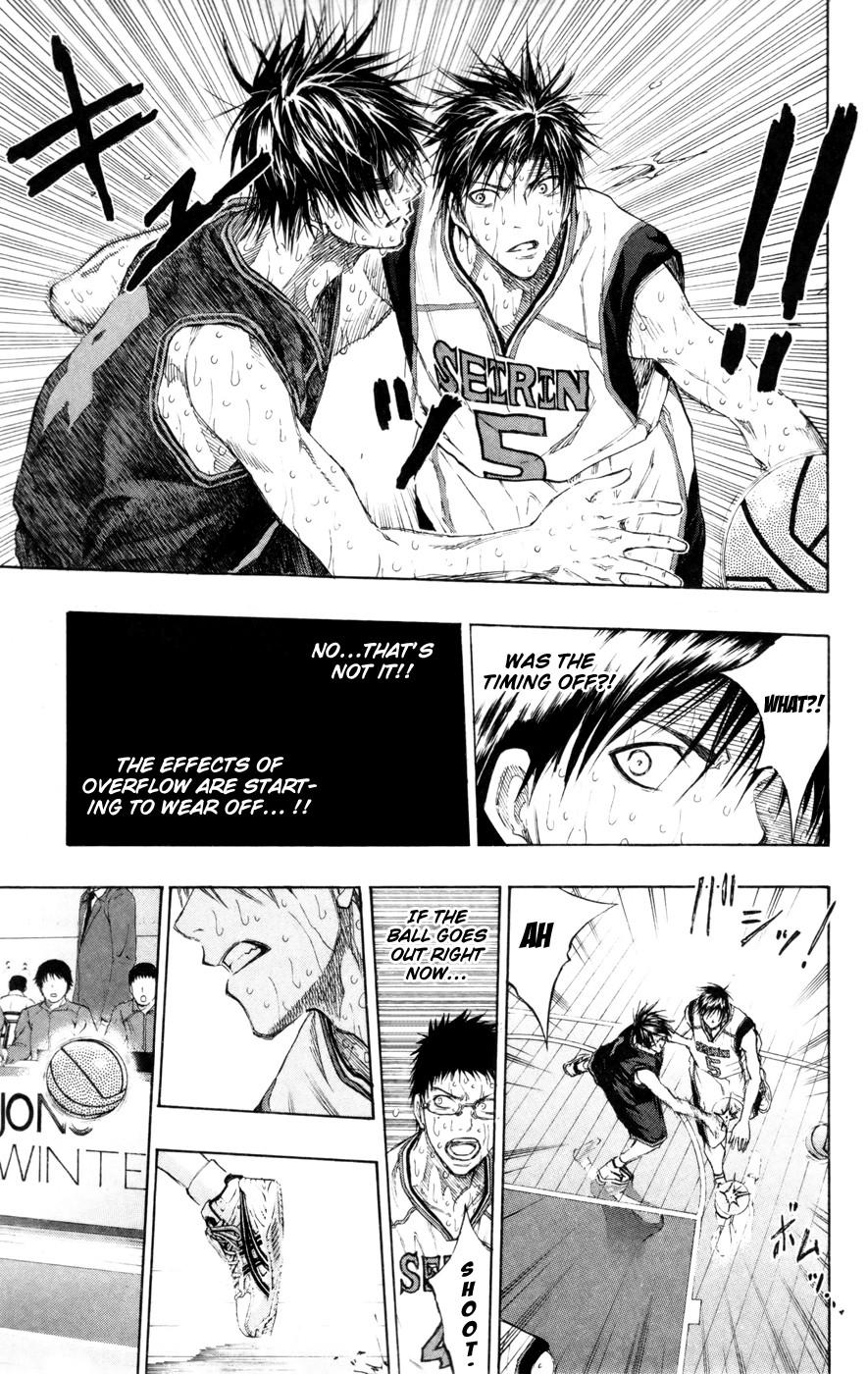 Kuroko no Basket Manga Chapter 135 - Image 09