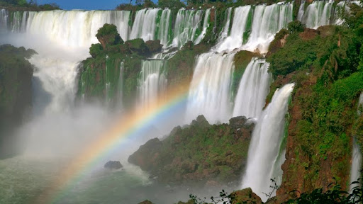 Rainbow Over the Iguazu River, Brazil-Argentina Border.jpg