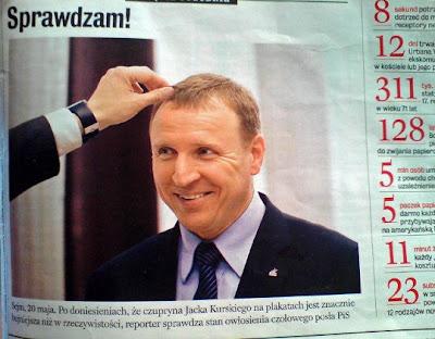 Jacek Kurski w Newsweeku 2009