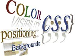 penggunaan CSS blog website design