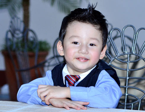 Con trai Jennifer Pham - Quang Dung