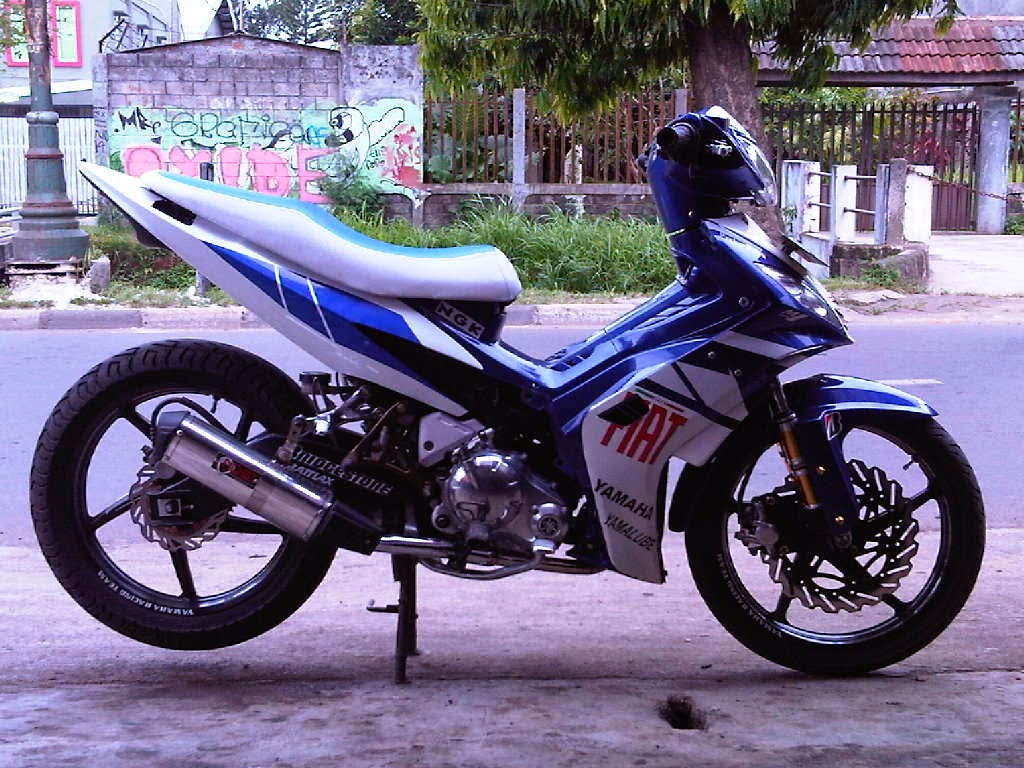 jupiter mx modifikasi motogp