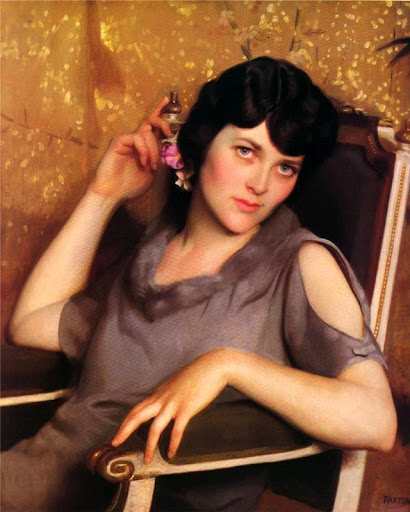 William McGregor Paxton - Pretty Girl