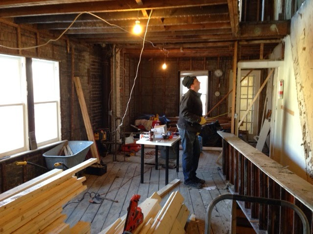 Moving And Rotating The Stairs House Renovation