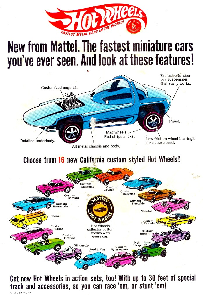HOVER MOTOR COMPANY: Vintage car toy ads. What to buy for ...