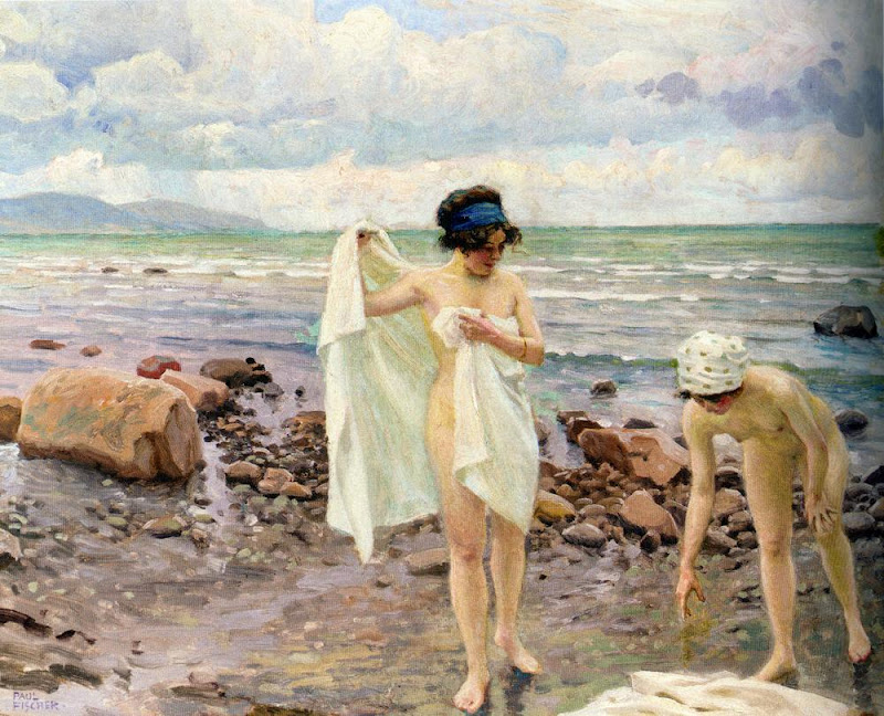 Paul Gustave Fischer - The Bathers
