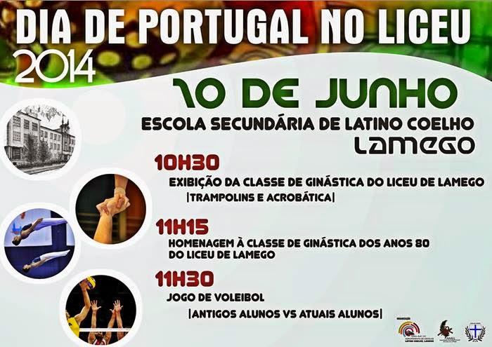 Dia de Portugal no Liceu Latino Coelho - 10 de Junho 2014