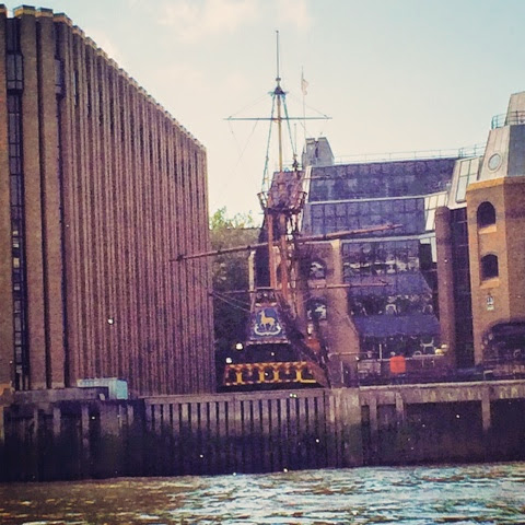The Golden Hinde - Spotted on our Fireman Sam Ocean Rescue Day