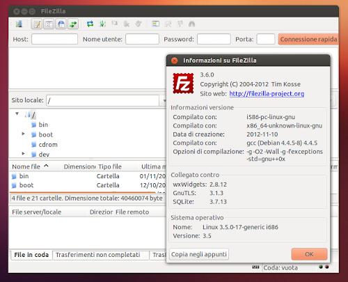 FileZilla 3.6.0