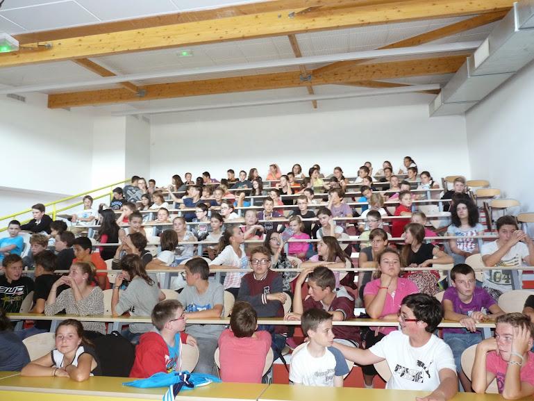 Rencontre avec les 5ème du Collège St Hilaire d\'Allaire (56) -03.10 ...