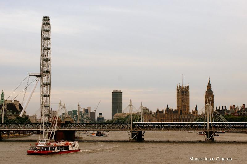 Big Ben desde o rio