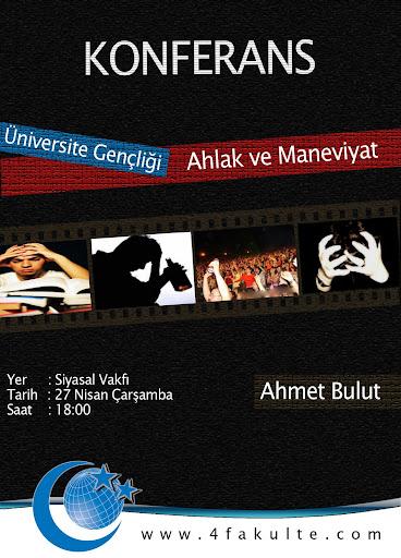 konferans afiş tasarım