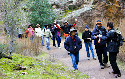 KM San Jose đi bộ trong Pinnacles National Park 23/02/2013