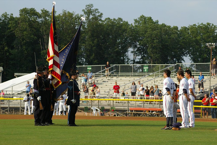 Color Guard and Potomac Nationals