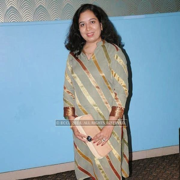 Mragna Gupta at at reunion bash of GH Raisoni College at Hotel Centre Point in Nagpur.