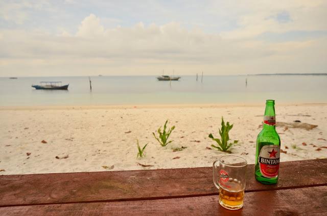 Nasza ulubiona knajpka przy Tanjung Kelayang