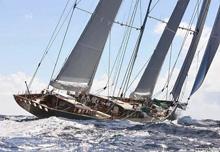 Hetairos super maxi sailing yacht