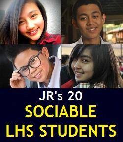 20 Sociable LHS Students