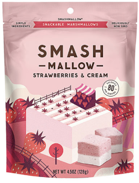 How the right packaging can be a $200 Million Decision  Smashmallow Smash Snacks Branding and Packaging Design by Hatch Design SF