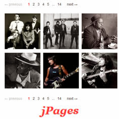 jPages - Client Side Pagination jQuery Plugin - Phân trang