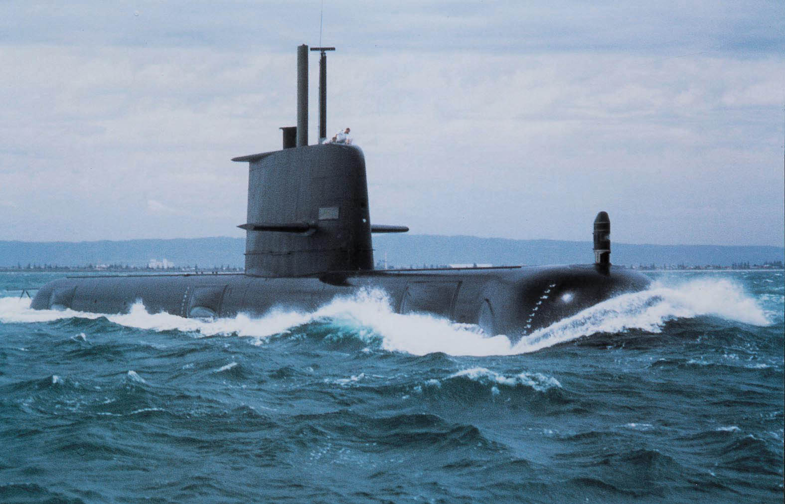 Australia is currently examining options to replace the Collins submarine replacement, including an all-new design or an evolution of the Collins