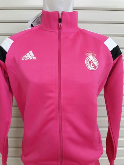 Jual Jaket Real Madrid Pink Tracktop Terbaru 2014-2015