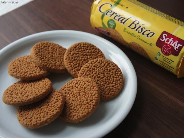 Vollkornkeks: die Cereal Bisco von Schär sind da.