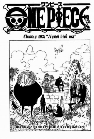 Chap 493 – One piece – Đảo Hải Tặc